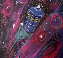 Dr Who - Tardis by Fransima