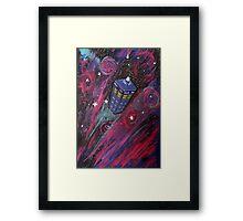 Dr Who - Tardis Framed Print