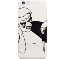 mess with me, I break your kneecaps iPhone Case/Skin
