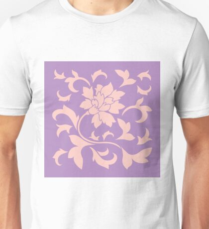 Oriental Flower - Strawberry Lilac Unisex T-Shirt