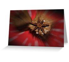 Spicy Brownies Greeting Card