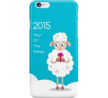 2015 Year Of The Sheep iPhone Case/Skin