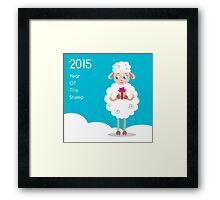 2015 Year Of The Sheep Framed Print