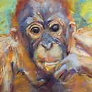 Amin 1 - Project Orangutan, the Exhibition by Terri Maddock