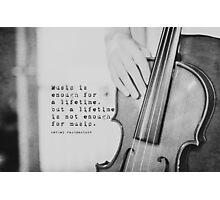 Rachmaninov Music Photographic Print