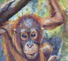 Amin 2 - Project Orangutan, the Exhibition by Terri Maddock