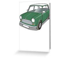 Classic Mini #11 Greeting Card