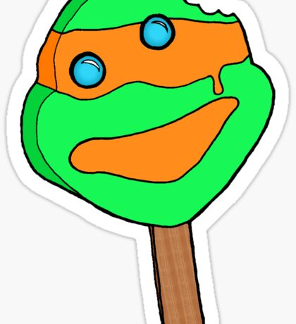 Michaelangelo Popsicle Sticker