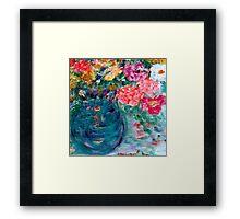 Romance Flowers Artist Designed Gifts & Decor Framed Print