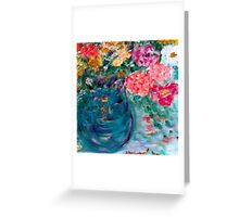 Romance Flowers Artist Designed Gifts & Decor Greeting Card