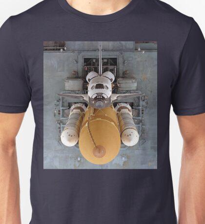 Space Shuttle Birdseye Unisex T-Shirt