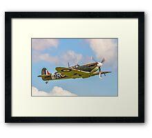 Supermarine Spitfire Ia AR213 G-AIST Framed Print