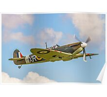 Supermarine Spitfire Ia AR213 G-AIST Poster