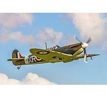 Supermarine Spitfire Ia AR213 G-AIST Photographic Print