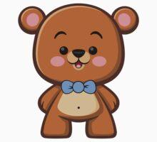 Brown Bear Boy Kawaii Kids Clothes