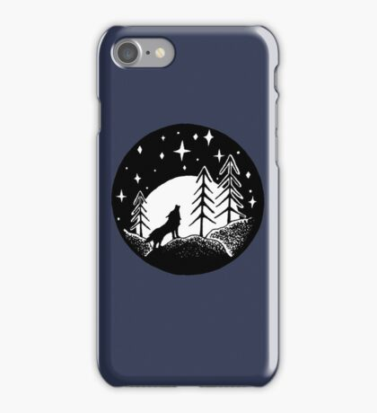 Wolf In The Woods iPhone Case/Skin