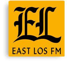 East Los FM Canvas Print