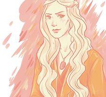 Cersei Lannister- Peach by Eviko