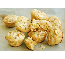 Pear muffins Photographic Print