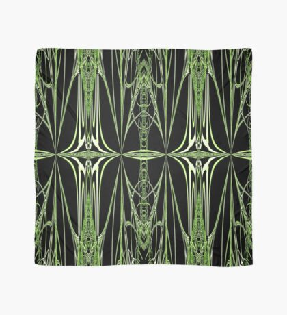 The Green Web  Scarf