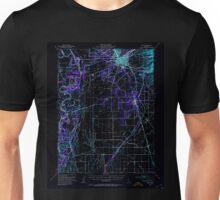 USGS TOPO Map California CA Chico 297081 1949 62500 geo Inverted Unisex T-Shirt