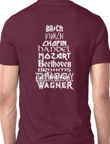 Composers Unisex T-Shirt
