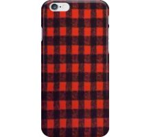 RED BUFFALO PLAID SMARTPHONE CASE (Phoney) iPhone Case/Skin