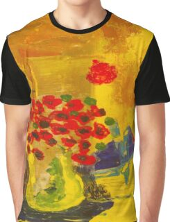 Poppy Parade Graphic T-Shirt