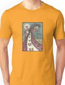 Goth Broken Heart Valentine Unisex T-Shirt