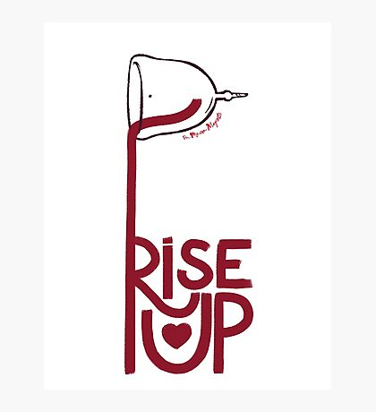 Rise Cup Photographic Print