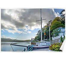 Boat At Portmeirion . Poster