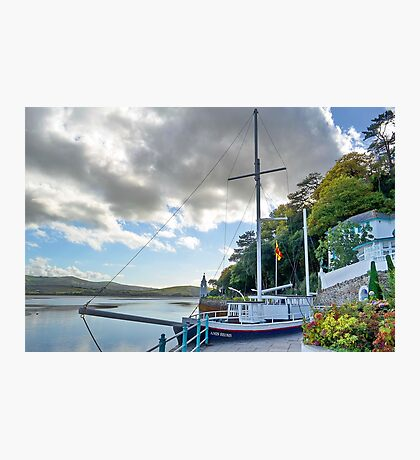 Boat At Portmeirion . Photographic Print
