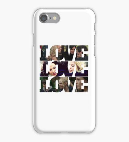 Swan Mills Family Love iPhone Case/Skin