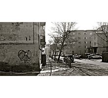 Mongolian Street Scape Photographic Print