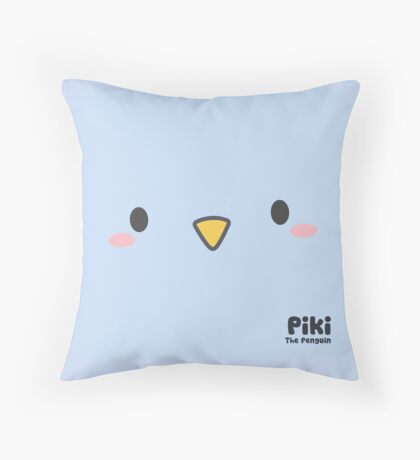 Piki Face Throw Pillow