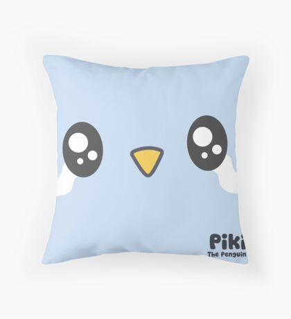Piki Crying Throw Pillow