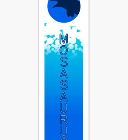 Mosasaurus Banner Sticker