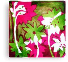 Watermelon Pink Canvas Print