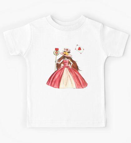 Queen of Hearts Kids Tee