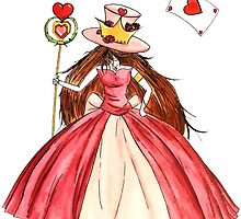 Queen of Hearts by studinano