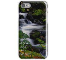 Faith #7 iPhone Case/Skin