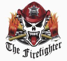 Fire Fighter Skull 2.2 Kids Clothes