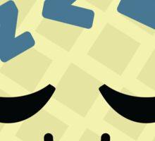 Melon Emoji Tired and Sleep Sticker