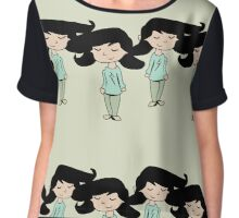 All Girls Protected Chiffon Top