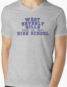 West Beverly High School Mens V-Neck T-Shirt