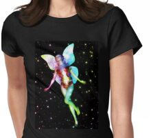 Fairy in stars 4 Womens Fitted T-Shirt