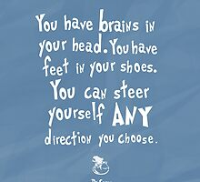 dr seuss you have brains in your head by chicamarsh1