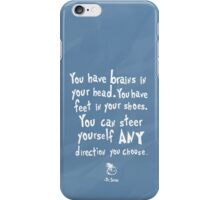 dr seuss you have brains in your head iPhone Case/Skin