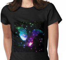 Fairy in stars 8 Womens Fitted T-Shirt