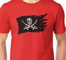 Digital Pirate Jolly Roger Unisex T-Shirt